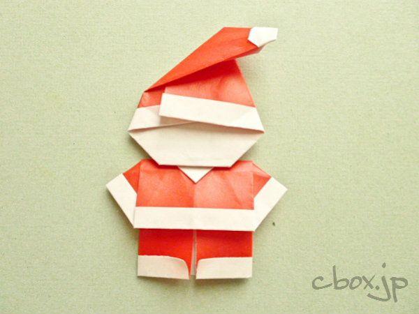 サンタクロースと言えば、真っ白なヒゲをはやした優しそうなおじいさんのイメージがありますが、この折り紙のサンタク…