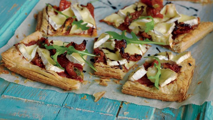 Brie and Chipotle Chilli Tart