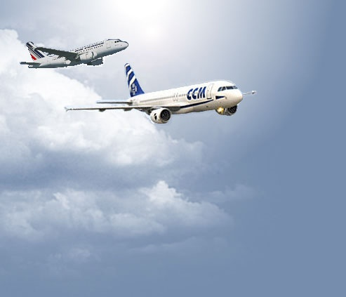 Billet d'avion vers la Corse