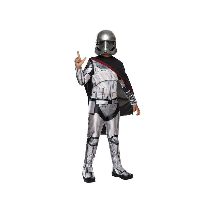 Star Wars: Episode VII The Force Awakens Captain Phasma Kids Costume, Girl's, Size: Small, Multicolor