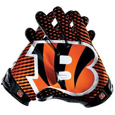 Nike Cincinnati Bengals Vapor Jet 2.0 Team Authentic Series Gloves