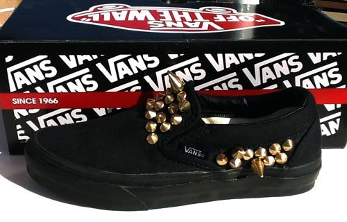 DIY studded vans / by Vans Girls