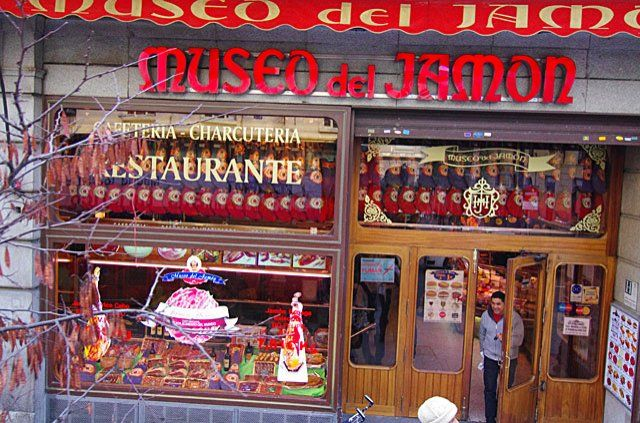 Museo del Jamon Madrid  butchers  Pinterest  Madrid, Hams and Museums