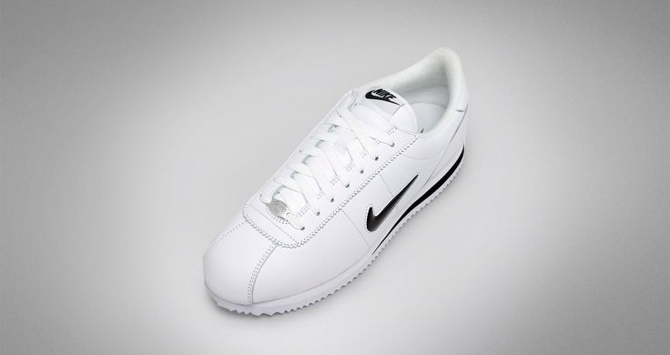 Release Date : June 1, 2017 Nike Cortez Jewel White / Black #Nike #Lifestyle #Sneakers