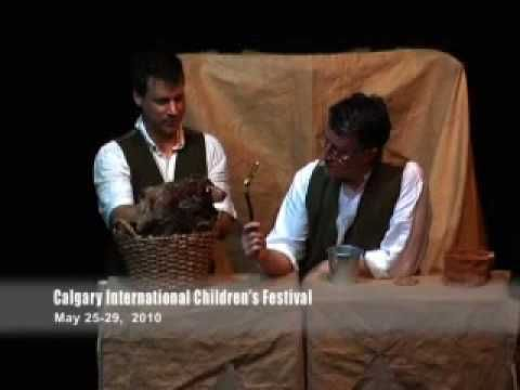 The Man Who Planted Trees - by Scotland's Puppet State Theatre -- COMING TO CALGARY KIDS' FEST 2012!