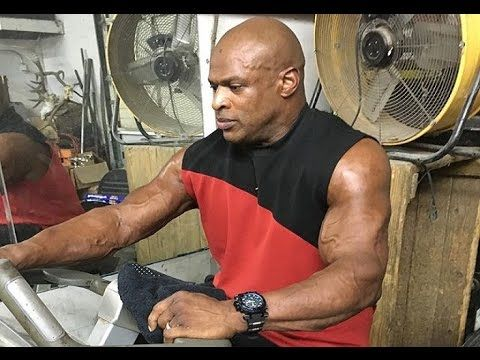 Ronnie Coleman Training Again after 6 Months Layoff Due to ...