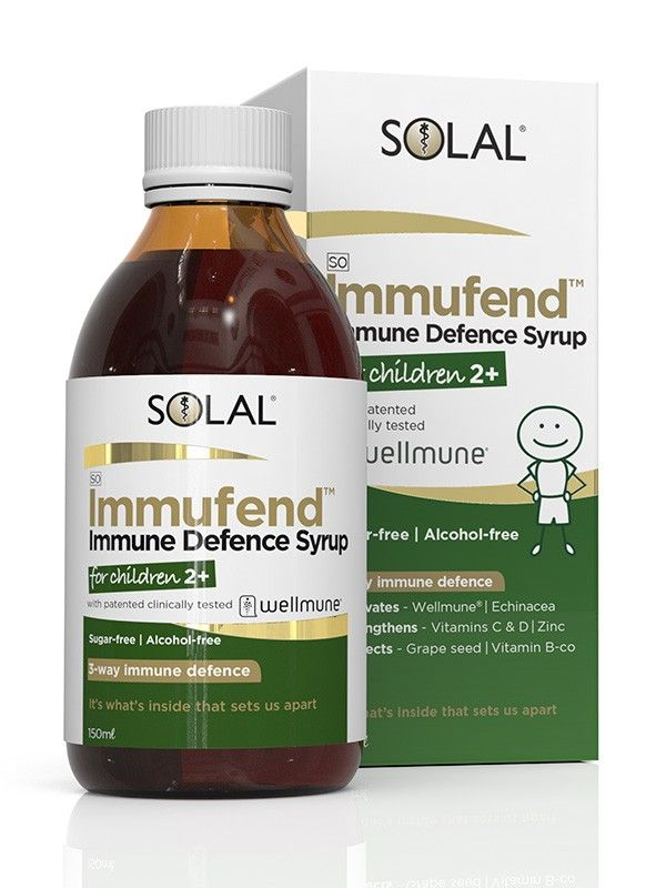 Solal Immufend Immune Defence Syrup