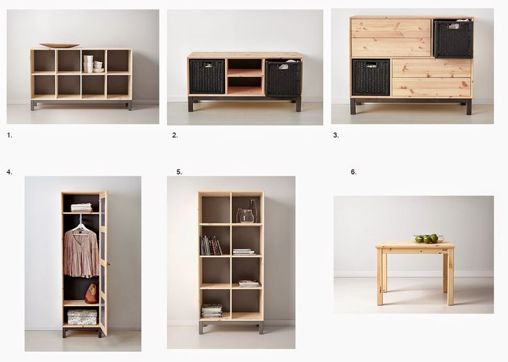 Simple concept: Something new! Ikea Nornas