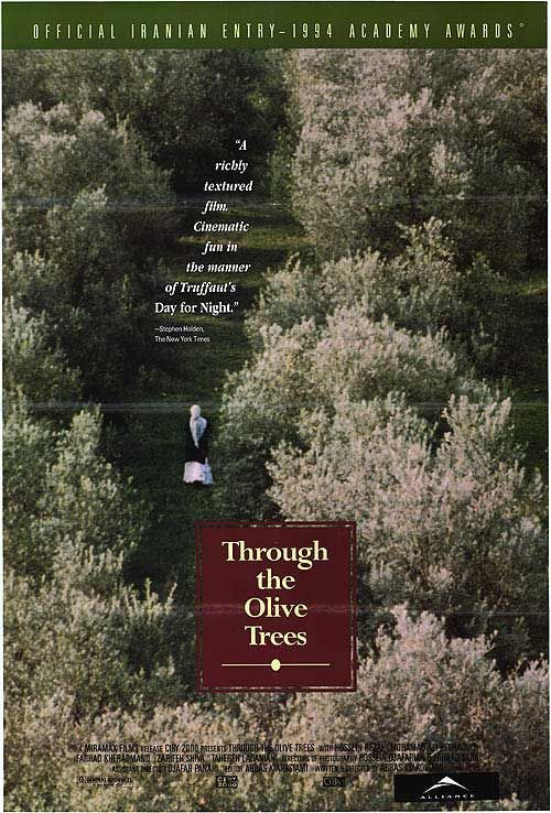 Through the Olive Trees Movie Poster