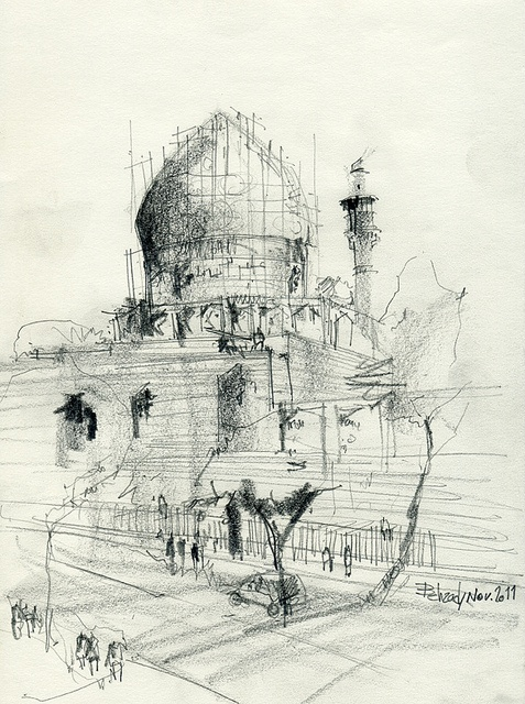 Architectural Sketch | Behzad Bagheri