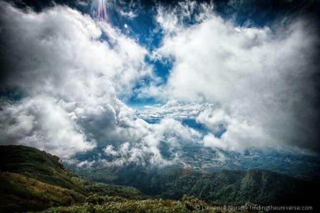 Doi Inthanon view from Kew Mae Pan trail