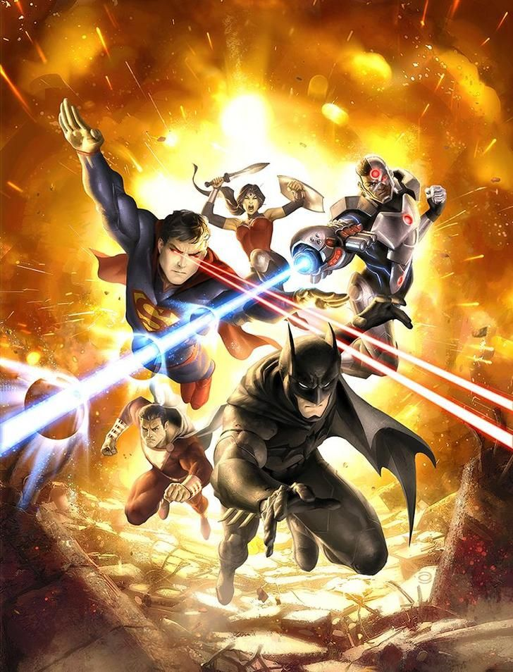 Alex Garner Painted Dc Comics Art Album On Imgur Justice League War Dc Comics Art Justice League