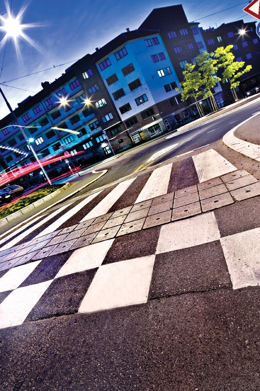 Speed hump Maridalsveien/Fredensborgveien Oslo