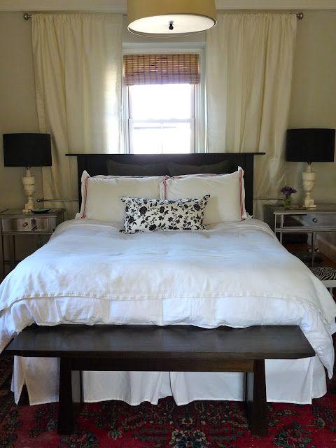Best 25+ Window behind bed ideas on Pinterest | Curtains ...