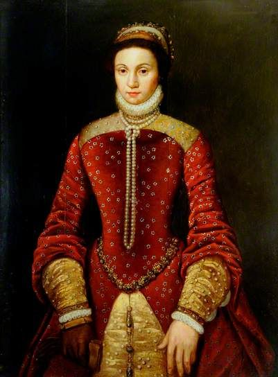Queen Mary Tudor (1516-1558), the only daughter of Henry VIII and Catalina of Aragon.