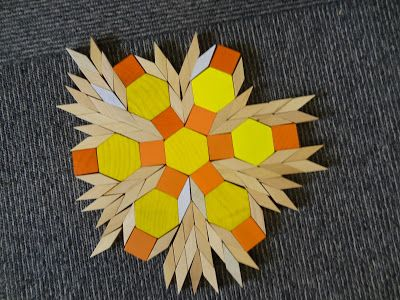 1000+ images about Pattern Blocks on Pinterest | Hexagons, 2d and ...