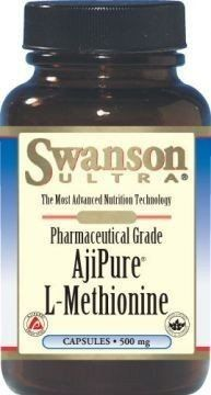 SWANSON AjiPure L-methionine 500mg x 60 capsules