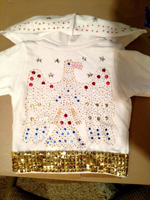 Baby/Toddler Elvis Costume by ClearbrookCreations on Etsy