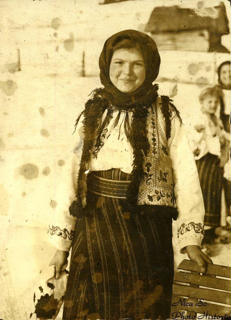 Undeva în România (probabil Bucovina sau Neamț), 1917