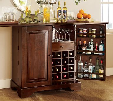 pottery barn bar