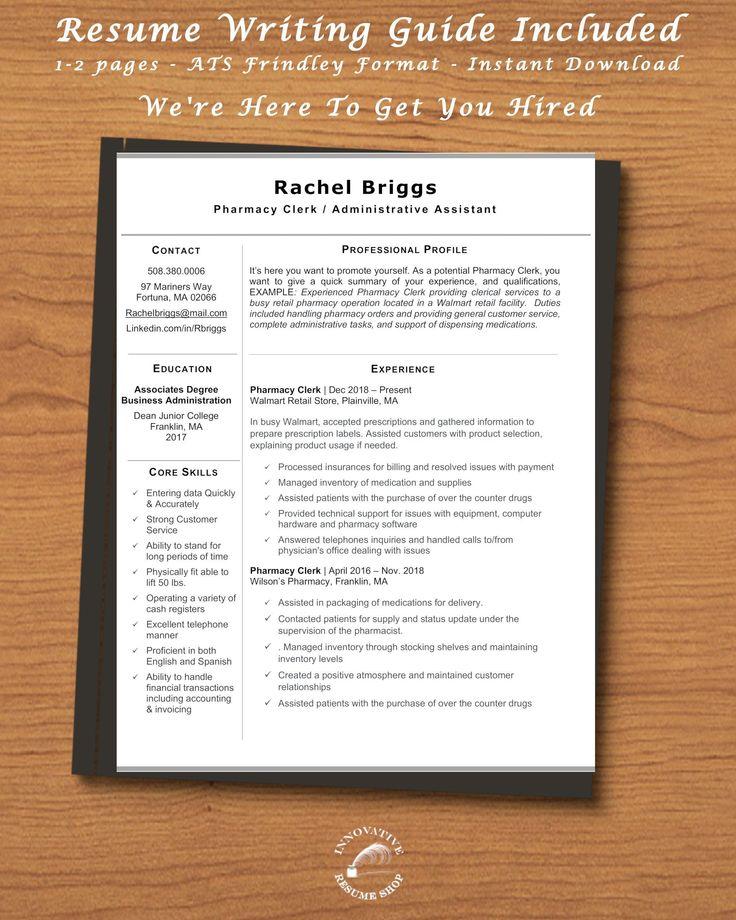 47++ Pharmacist resume template word ideas in 2021