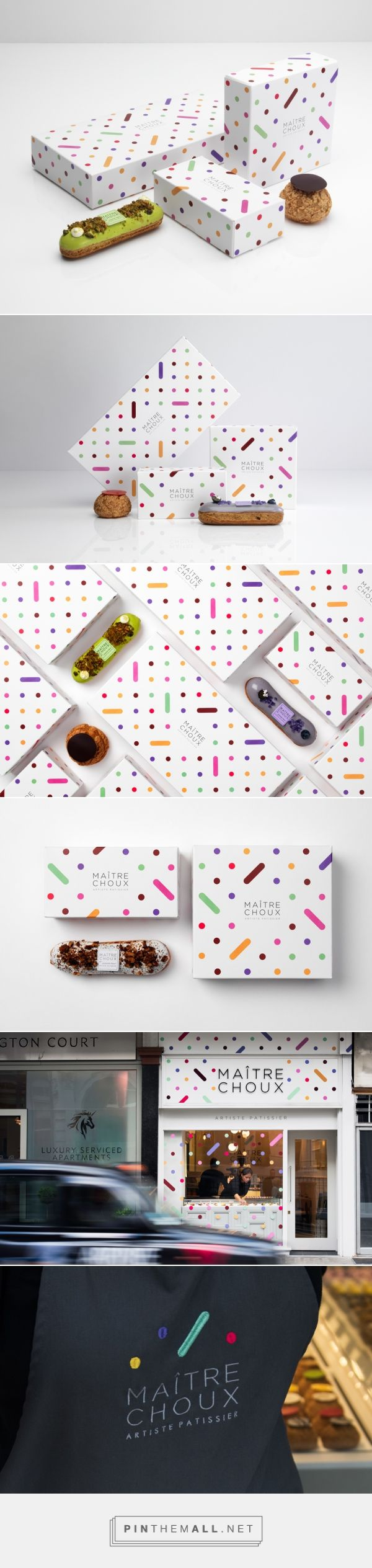 The Dieline Awards 2016: Maitre Choux- MONOGRAM — The Dieline - Branding & Packaging - created via https://pinthemall.net