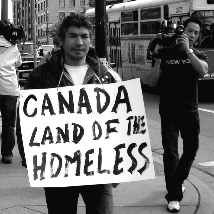 Canada Land of The homeless | Students exploring inequality in Canada