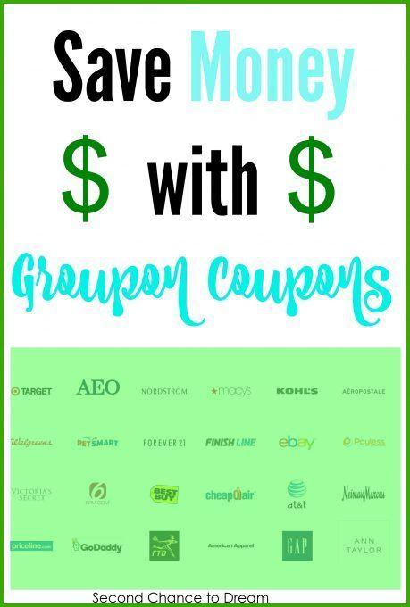 43 best saving money images on pinterest frugal frugal tips and saving money with groupon coupons fandeluxe Choice Image