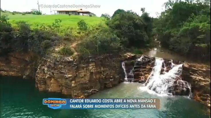 O cantor Eduardo Costa abriu as portas de sua casa e mostrou todo o conforto que vive em Minas Gerais. Acompanhe essa visita e conheça o paraíso em que vive o artista.