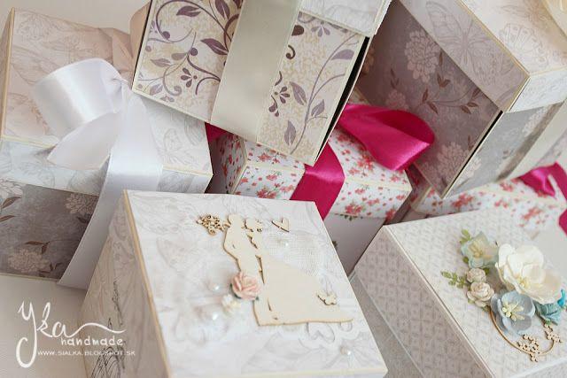 Yka handmade: Krabičky a krabičky...