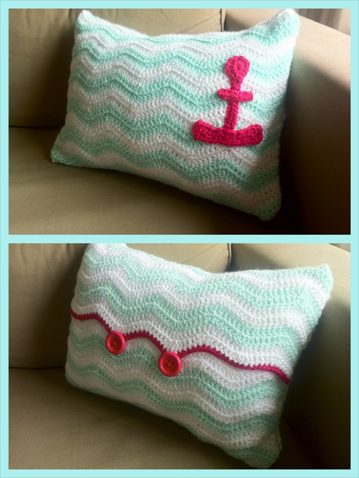 Nautical Cushion Knitting Pattern : 25+ best ideas about Nautical Crochet on Pinterest Crochet appliques, Croch...