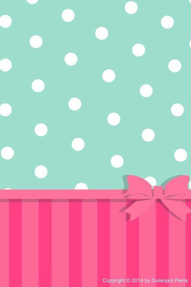 17 best images about polka dots on pinterest polka dot for Polka dot wallpaper