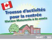 Boîte à outils des activités pour la rentrée, Niveaux Maternelle à 5e année