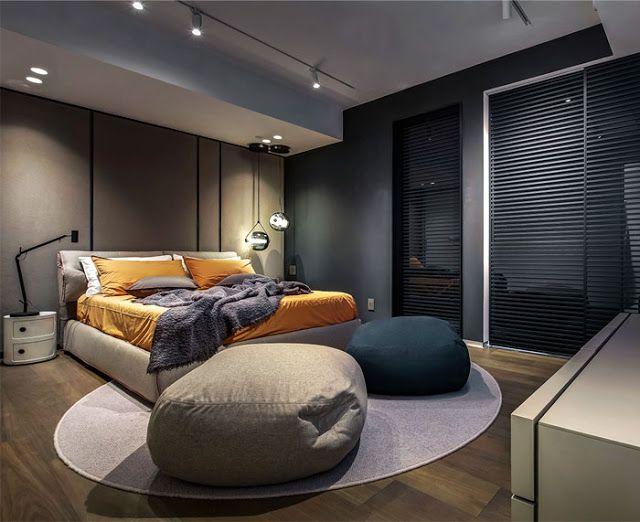 18 Habitaciones para hombres modernos