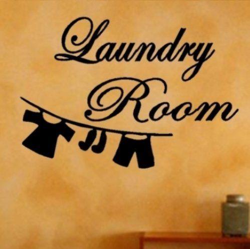 Best Vinyl Wall And Framed Art Images On Pinterest Framed - Custom vinyl wall decals sayings for laundry room