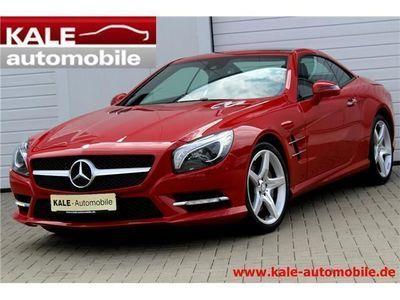 used Mercedes SL500 *AMG-Line*Sitzklima*Airscarf*Designo*ABC*