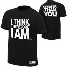 "Damien Sandow ""I Think Therefore I Am"" Authentic T-Shirt"