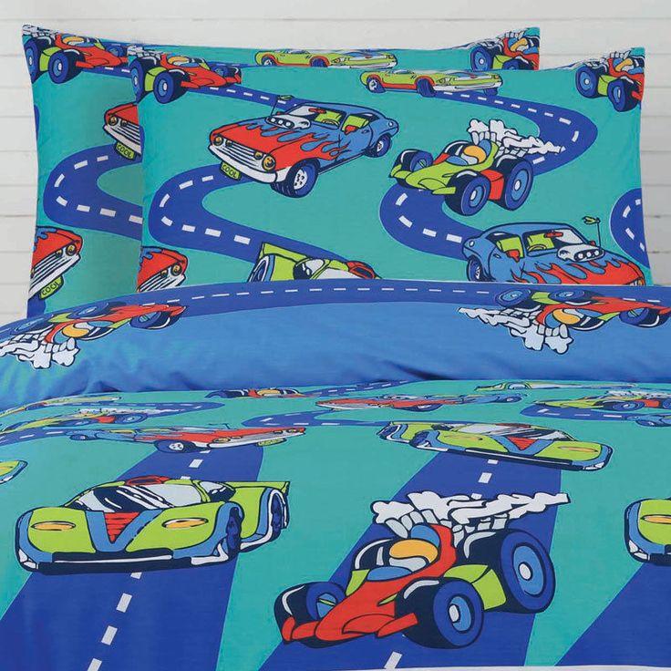 Cars - Ardor Kids - Quilt Cover Set - Love Mum