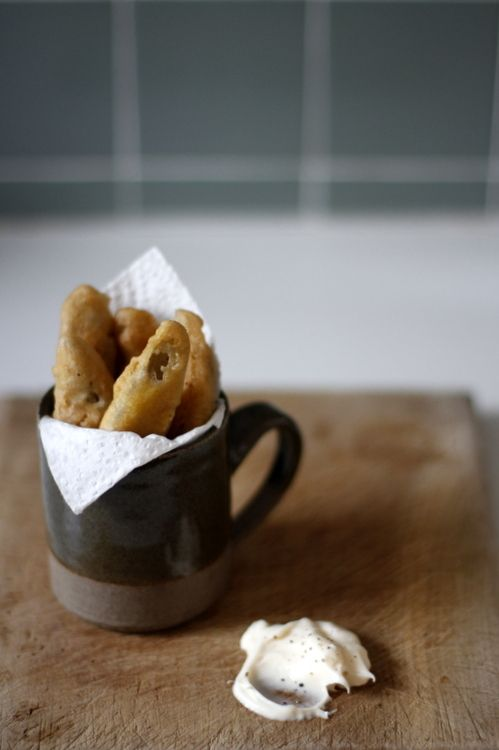 ... Fried & Baked Pickles on Pinterest | Bacon, Spicy and Baked fried