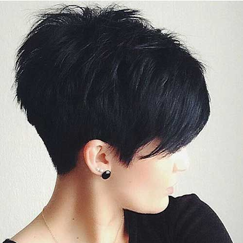 8.Long Pixie Cut