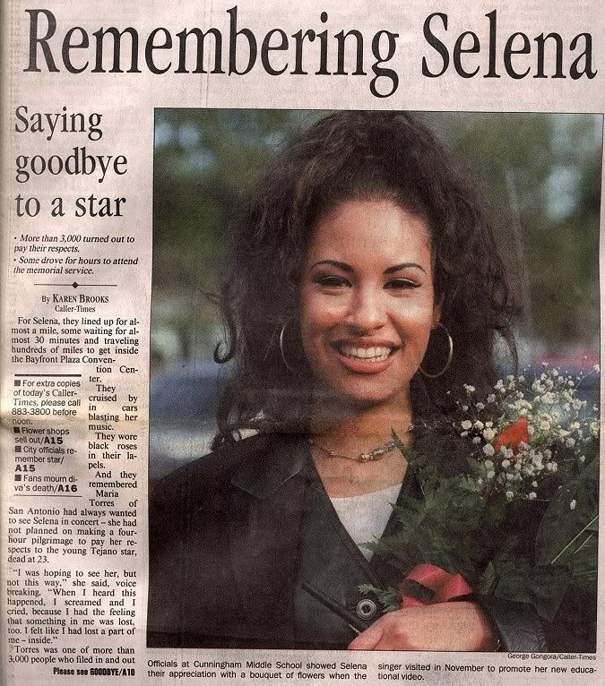 Something is. selena quintanilla autopsy from