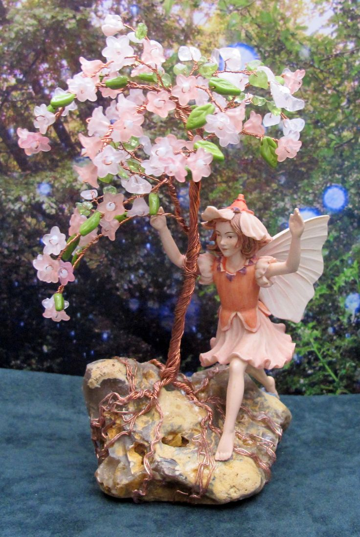 1000 Images About Gemstone Trees And Fairies On Pinterest