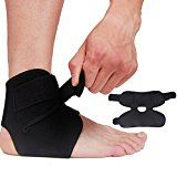 Review for Ankle Sports Brace Support Ankle Sprains Bandage Free Adjustment Elasticity Prot... - Sharon Farris  - Blog Booster