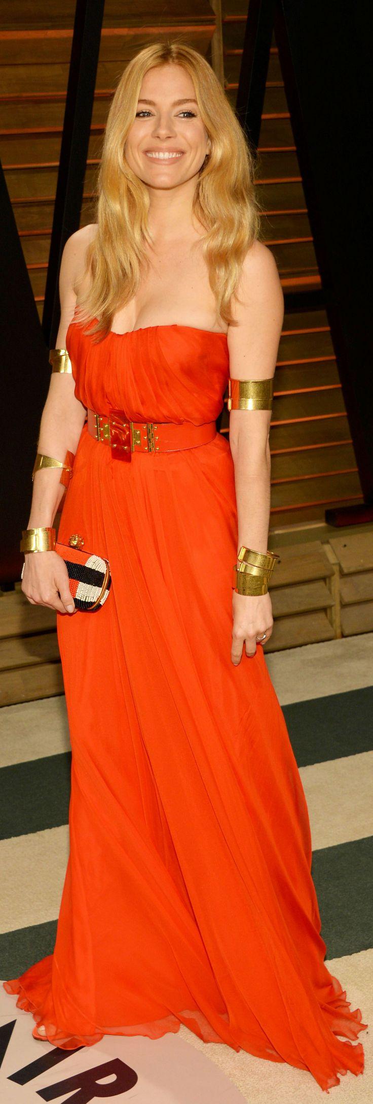 Sienna Miller - 2014 Vanity Fair Oscar Party (March 2, 2014)