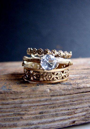Smoky Quartz   Gold Wedding InspirationBest 25  Hippie wedding ring ideas only on Pinterest   Beautiful  . Hippie Wedding Rings. Home Design Ideas