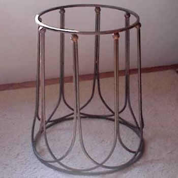 Linea Wrought Iron Dining Table Base Fish Camp Pinterest