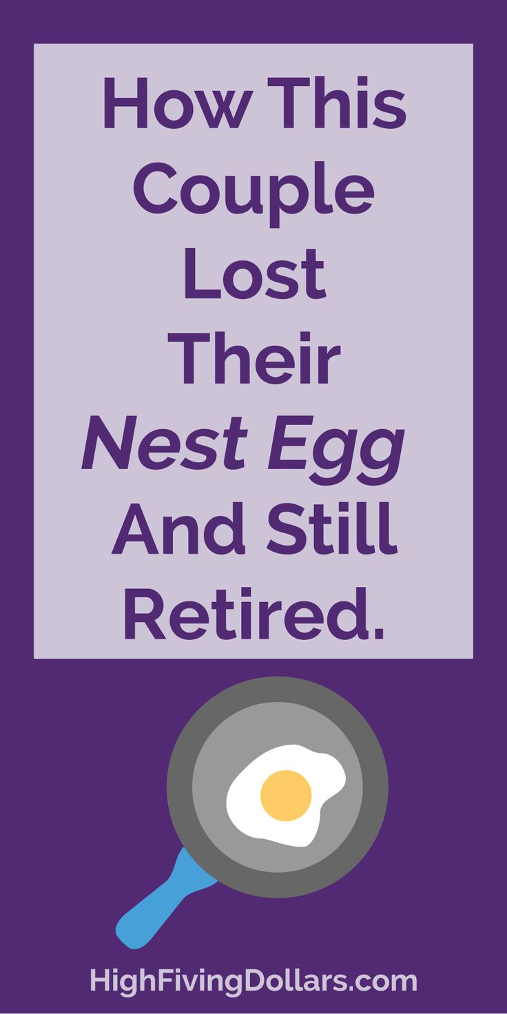 Yikes! I can't believe they lost 1.5 million dollars and were still able to retire! Definitely read this story!