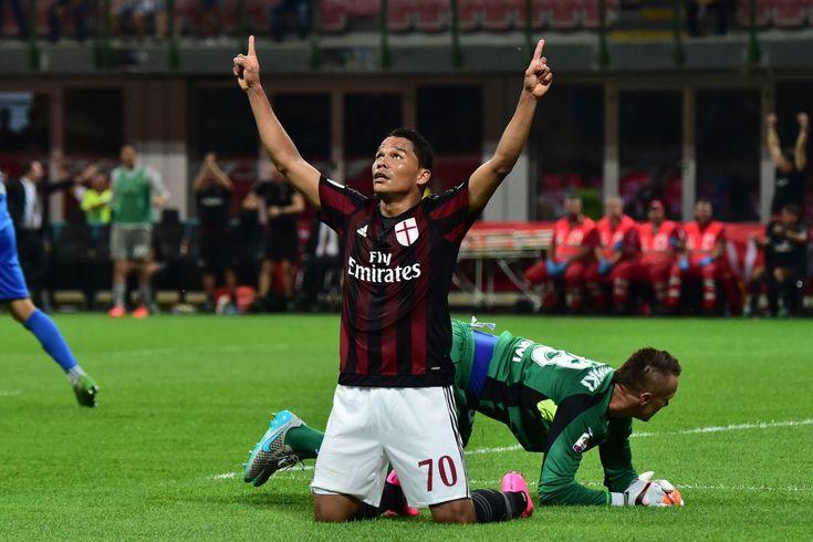 @Milan Rete di Carlos Bacca per battere l'Empoli, a fatica e si sblocca #9ine