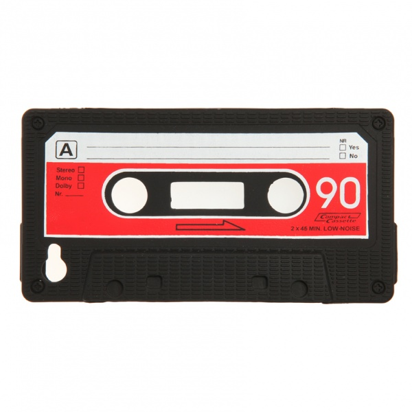 iPhone cover goes old skool..