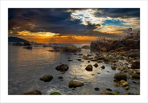 Atardecer en Cabo Estai / Sunset in Cabo Estai